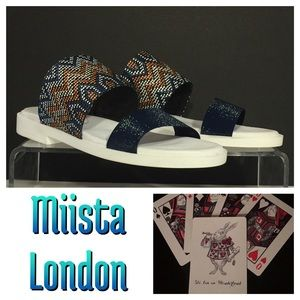 NWOB Miista London Amanda Slip On Sandal EUR 40